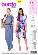 6414 Burda Pattern: Ladies Dress